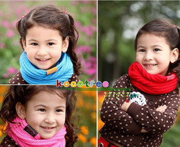 Wholesale Fashion baby scarf boys and girls in the fall and winter cravat Children s muffler