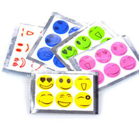drive bug repellent - Hot Selling Smiling Face Best Mosquito Natural Repellent Patch Insect bug repellent sticker Camping
