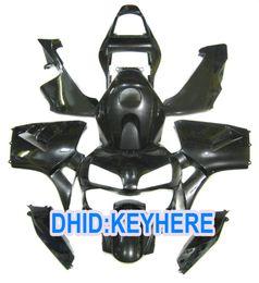 H04 Injection glossy black customize racing Fairing kit for Honda CBR600RR 2003 2004 CBR 600RR 03 04