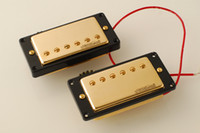 Wholesale Wilkinson Lic LP Hot Humbucker Pickup Set Gold Cover