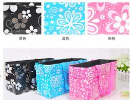 Wholesale Baby Diaper Nappy Bag Bottle Holder Mummy Set Handbag Carrier Storage bag Organizer pouch