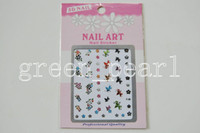 Wholesale 24Pcs New Fancy Nail Art D Sticker Decal Nail Art laptop D Nail Accessory