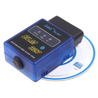 Wholesale New ELM327 V1 Mini Bluetooth ELM OBDII OBD II OBD2 Protocols Car Auto Diagnostic Scanner Tool