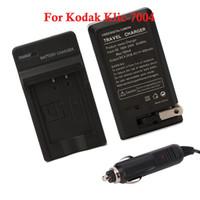 Wholesale Camera Battery Charger For Kodak Klic Klic Black Ship From USA D4207
