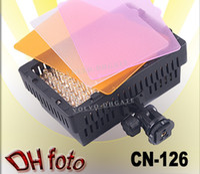 Wholesale CN LED Camera Video Camcorder Hot Shoe Light Lamp