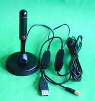 Wholesale Amplified digital tv active antenna with magnetic type with V power SMA connector to m cable