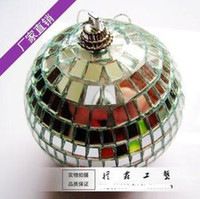christmas glass ball ornaments - Christmas ornament glass ball mirror ball CM