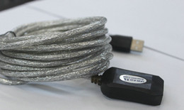 Wholesale 5M USB A Male to Female ACTIVE Extension Data Cable with Amplifier chip