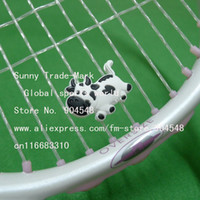 Wholesale 20 Pec Cow design vibration dampener tennis rackets dampener