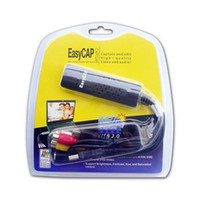 Wholesale video grabber Easy cap USB Video USB Video Capture for win7 and MAC CHANNEL