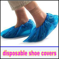 Wholesale 500PCS Disposable Shoe Covers One Time Plastic PVC Shoe Cover Once off