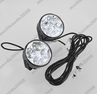 Wholesale 4 Sets H100 LED DC V W Daytime Running Fog Light Lamp Driving Bulb Kit For Car Auto