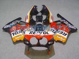 REPSOL body FOR Honda CBR250RR MC19 1987 1989 CBR 250 RR 87 88 89 CBR250 fairing kit &windscreen