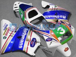 Bundle For Honda NSR250R MC21 PGM3 90 91 92 93 NSR 250R MC 21 rothmans Body Kit Fairing & Windscreen