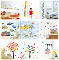Wholesale Mix order Kids Wall Stickers Decals Nursery Wall Art Decal Sticker Decor x60cm