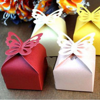Wedding   Wedding Favor Butterfly Candy Boxes Bridal Party Gifts Packing Jewelry Boxes