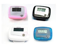 Wholesale LCD Counter Electronic Digital Mini Pedometer Step Calorie Walking Distance Counter300