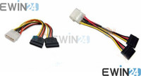 Wholesale NEW inches SY CAB40007 Molex Pin to x Pin SATA Power Cable