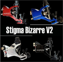 Wholesale New Style Stigma Bizarre V2 Rotary Tattoo Machine Gun Colors Assorted Tattoo Kits Supply
