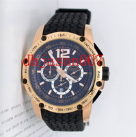 Sport battery singapore - Luxury Classic Racing Superfast Singapore Chronograph SS dive golden mens watch sports wristwatch
