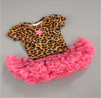 girls' Dress kids leopard tutu dress baby pettiskirt summer ...
