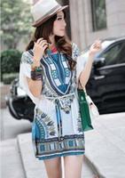 Hot Sales! Fashion Dresses Plus Size 3 colors National print...