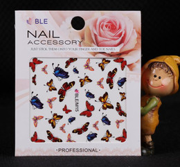 Wholesale nail art sticker paster nail accessory various of styles hot selling
