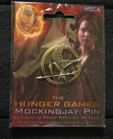 Wholesale New arrivals HUNGER GAMES Katniss Mockingjay Bird Brooch Pin Prop gold silver