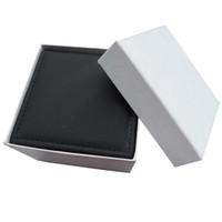 Wholesale 2012 Gift Box Boxes amp Cases PU Black Unisex Automatic Quartz Box Womens Men s Watch Women s Watches