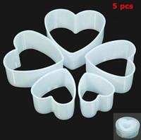 Wholesale New Heart Shape Cutter Sugarcraft Cake Decorating Modelling Tool