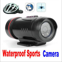 Wholesale Waterproof Sports Digital Video Camera HD Mini DV Waterproof Helmet Video Camcorder DVR Cam Gift