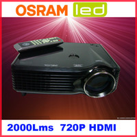 Wholesale Movie Home Use Wide LED LCD Display Home Theater Cinema Projector P P Cheap