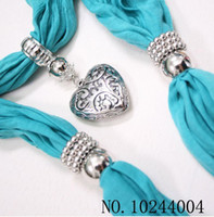 Long decoration jewelry colors - 10 Mix colors Women Jewelry Beads Scarf Decoration Scarves Candy Design Scarf belief14