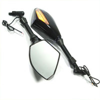 Wholesale Motorcycle Integrated LED Turn Signals Side Mirrors New