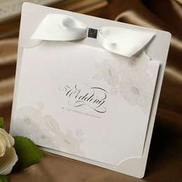 Wholesale Guaranteed100 Novel wedding invitation card BH1002 and printing