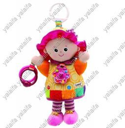 Wholesale 5pcs Lamaze Early Development stuffed Play amp Grow my friend emily take along Baby Toys