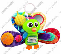 Wholesale 5pcs Lamaze Early Development Stuffed Play amp Grow jacques the peacock Baby Toys jfus