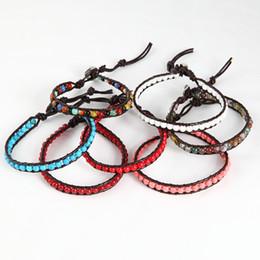 bracelet wrap bracelet leather precious stone bracelets cheap fashion jewelry