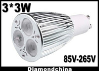 Wholesale 90 Power Saving GU10 LED W Light lamp v v W MR16 E27 B22 V V
