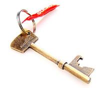 Stainless Steel key bottle opener - best price Key Shape Bottle Beer Opener Portable Keychain