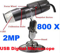 Wholesale The Newest MP LED X USB Digital Microscope Endoscope Magnifier Camera