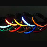 Wholesale Pet Dog Led Collars Led Lighted Pet Safety Collars New Pet Accessories