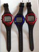 Wholesale hot selling New Pulse Heart Rate Monitor Calories Counter Fitness Watch sport watch