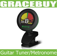 Wholesale Portable Guitar Clip Tuning Tuner Metronome JOYO JMT Clip on for Chromatic Bass Violin Ukulele