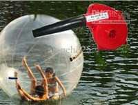 Wholesale Inflatable Water walking Zorb PVC Ball Tizip zipper Free ELECTRIC BLOWER