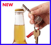 Wholesale Best price Mini Key Shape Key Ring Bottle Beer Opener Wedding Gift Portable Keychain