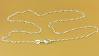 Wholesale Nickel Free Sterling Silver Plated Necklace Chain PN653