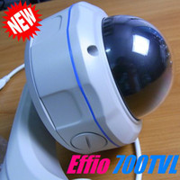 Wholesale 1 quot Sony Effio TVL CCD Color CCTV Security mm Varifocal LEns Waterproof Dome Camera with Night Vision