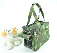 Wholesale Canvas Pet Dog Cat Comfort Travel Carrier Tote Bag Crate Outing Bags x9 x6 quot
