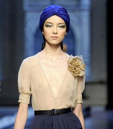 DHL Free Fashion Turban Head Wrap Band Hat Cap Chemo Bandana Many Colour